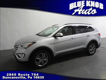 2016 Hyundai Santa Fe for sale in Duncansville, PA