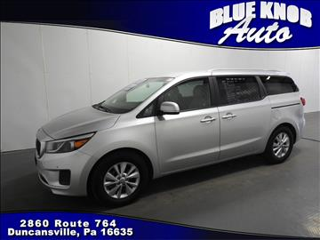 2017 Kia Sedona for sale in Duncansville, PA
