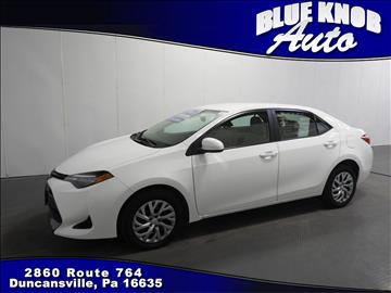 2017 Toyota Corolla for sale in Duncansville, PA