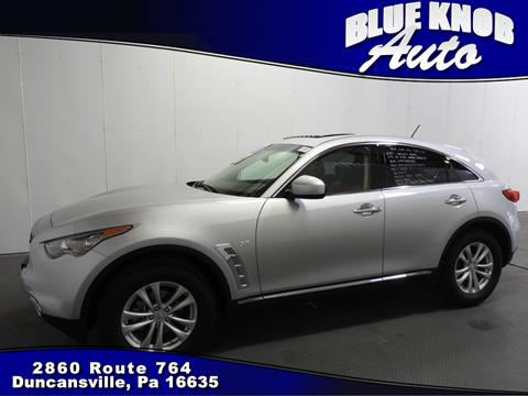 2017 Infiniti QX70 for sale in Duncansville, PA