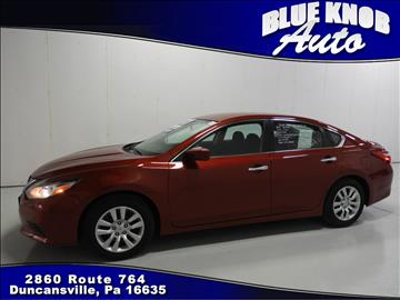 2017 Nissan Altima for sale in Duncansville, PA