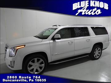 2017 Cadillac Escalade ESV for sale in Duncansville, PA