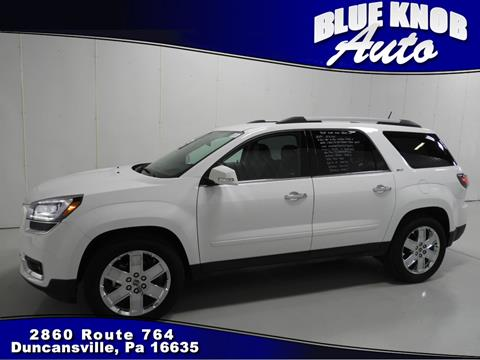 2017 GMC Acadia Limited for sale in Duncansville, PA
