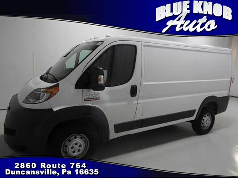 2016 RAM ProMaster Cargo for sale in Duncansville, PA