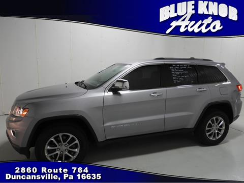 2015 Jeep Grand Cherokee for sale in Duncansville, PA