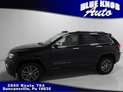 2017 Jeep Grand Cherokee for sale in Duncansville, PA