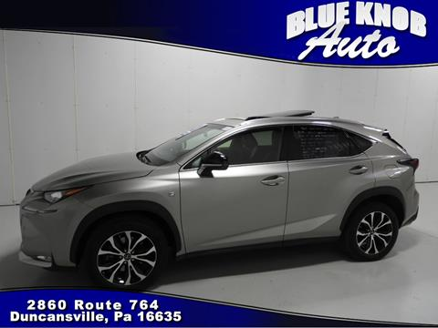 2015 Lexus NX 200t for sale in Duncansville, PA