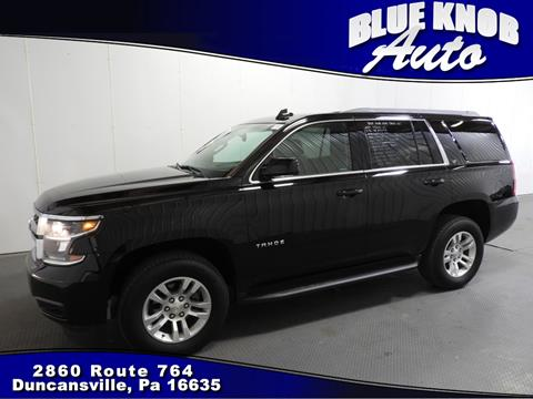 2017 Chevrolet Tahoe for sale in Duncansville, PA