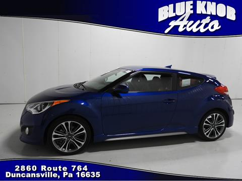 2016 Hyundai Veloster Turbo for sale in Duncansville, PA