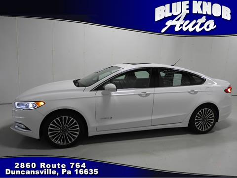 2017 Ford Fusion Hybrid for sale in Duncansville, PA