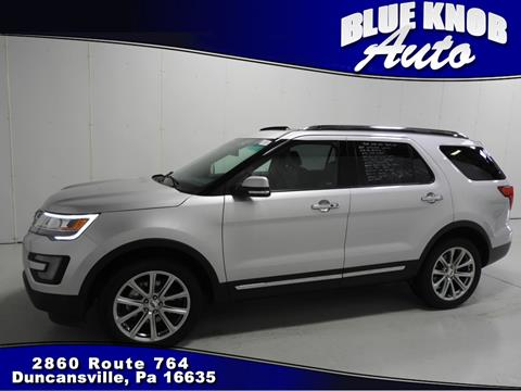 2017 Ford Explorer for sale in Duncansville, PA