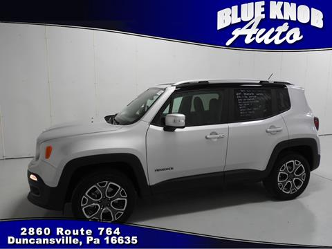 2017 Jeep Renegade for sale in Duncansville, PA