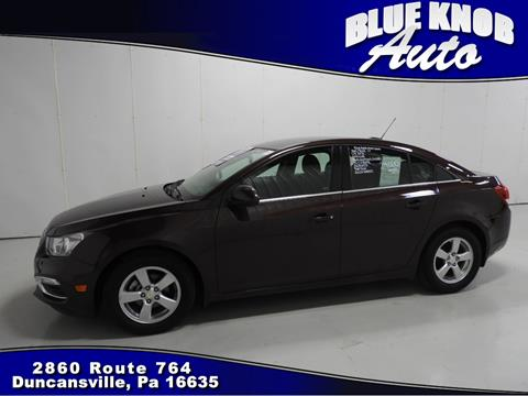 2015 Chevrolet Cruze for sale in Duncansville, PA