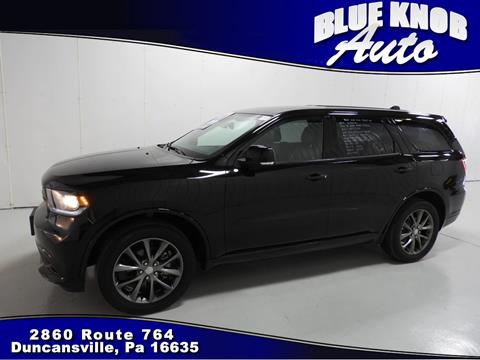 2017 Dodge Durango for sale in Duncansville, PA