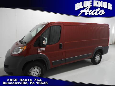 2017 RAM ProMaster Cargo for sale in Duncansville, PA