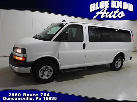 2017 Chevrolet Express Passenger For Sale In Duncansville PA