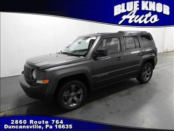 2014 Jeep Patriot for sale in Duncansville, PA