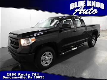 2016 Toyota Tundra for sale in Duncansville, PA