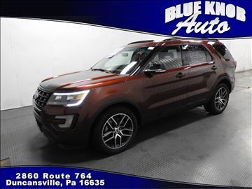 2016 Ford Explorer for sale in Duncansville, PA