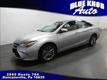 2016 Toyota Camry for sale in Duncansville, PA