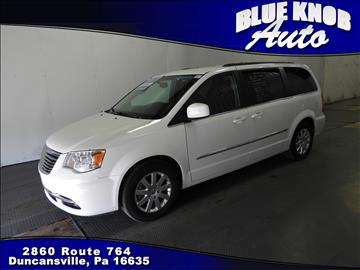 2016 Chrysler Town and Country for sale in Duncansville, PA