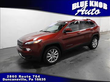 2016 Jeep Cherokee for sale in Duncansville, PA