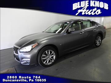 2016 Infiniti Q70 for sale in Duncansville, PA