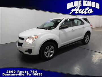 2014 Chevrolet Equinox for sale in Duncansville, PA