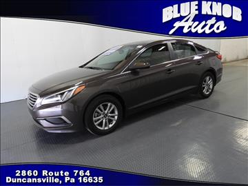 2016 Hyundai Sonata for sale in Duncansville, PA
