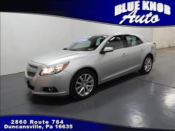 2013 Chevrolet Malibu for sale in Duncansville, PA