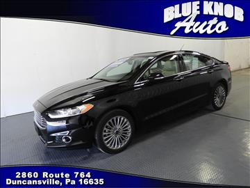 2016 Ford Fusion for sale in Duncansville, PA