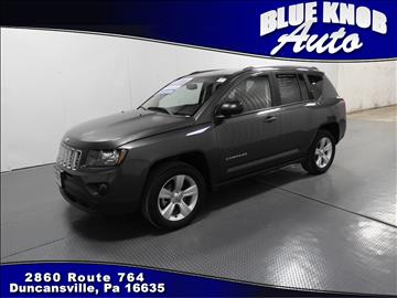 2016 Jeep Compass for sale in Duncansville, PA