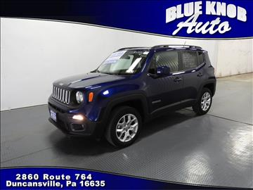 2016 Jeep Renegade for sale in Duncansville, PA