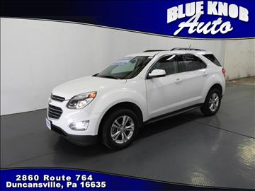 2016 Chevrolet Equinox for sale in Duncansville, PA