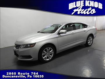 2016 Chevrolet Impala for sale in Duncansville, PA