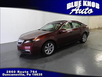 2014 Acura TL for sale in Duncansville, PA