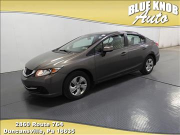 2013 Honda Civic for sale in Duncansville, PA