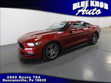 2016 Ford Mustang for sale in Duncansville, PA