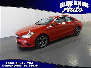 2014 Mercedes-Benz CLA for sale in Duncansville, PA