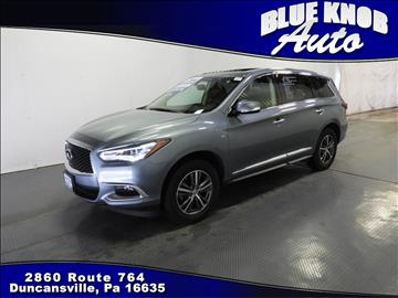 2016 Infiniti QX60 for sale in Duncansville, PA