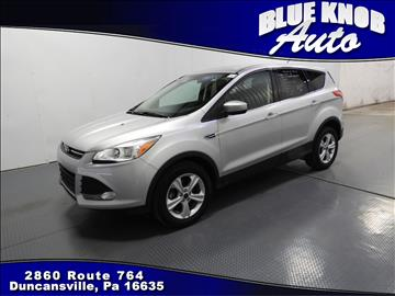 2016 Ford Escape for sale in Duncansville, PA