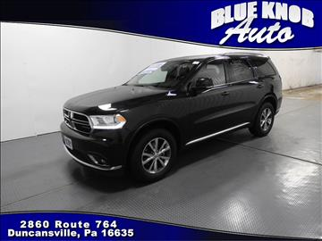 2016 Dodge Durango for sale in Duncansville, PA