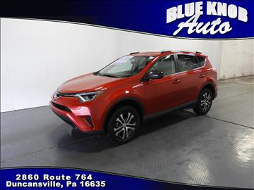 2016 Toyota RAV4 for sale in Duncansville, PA