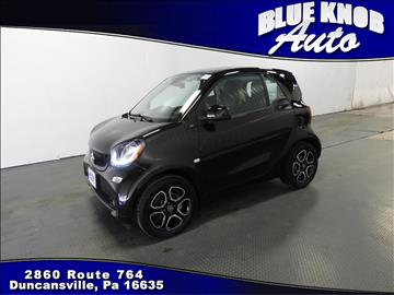 2016 Smart fortwo for sale in Duncansville, PA