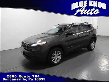 2017 Jeep Cherokee for sale in Duncansville, PA