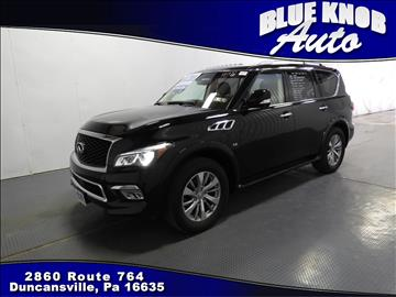 2016 Infiniti QX80 for sale in Duncansville, PA