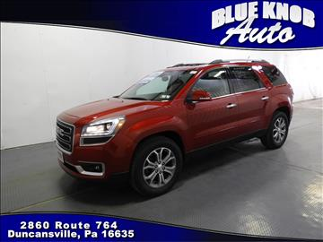 2013 GMC Acadia for sale in Duncansville, PA