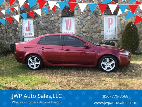 2006 Acura TL for sale at JWP Auto Sales,LLC in Maple Shade NJ