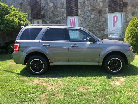 2011 Ford Escape for sale at JWP Auto Sales,LLC in Maple Shade NJ