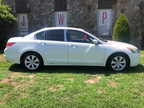 2008 Honda Accord for sale at JWP Auto Sales,LLC in Maple Shade NJ